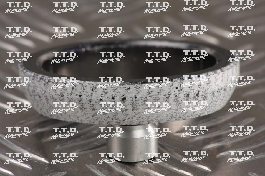 Fibra cierre codo turbo estándar con down pipe