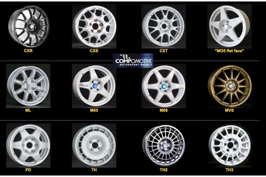 COMPOMOTIVE WHEELS