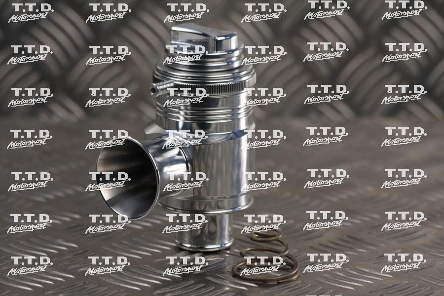 Válvula descarga regulable FORGE - requiere tapón admisión