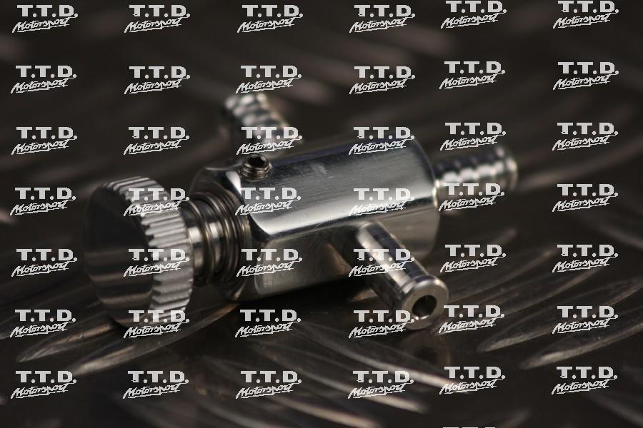 Grifo regulación presión turbo vano motor - requiere uso de válvula antiretorno