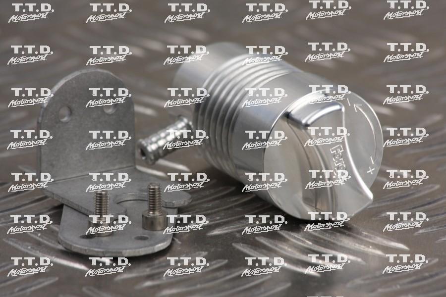 Grifo regulación presión turbo por posiciones - requiere uso de válvula antiretorno