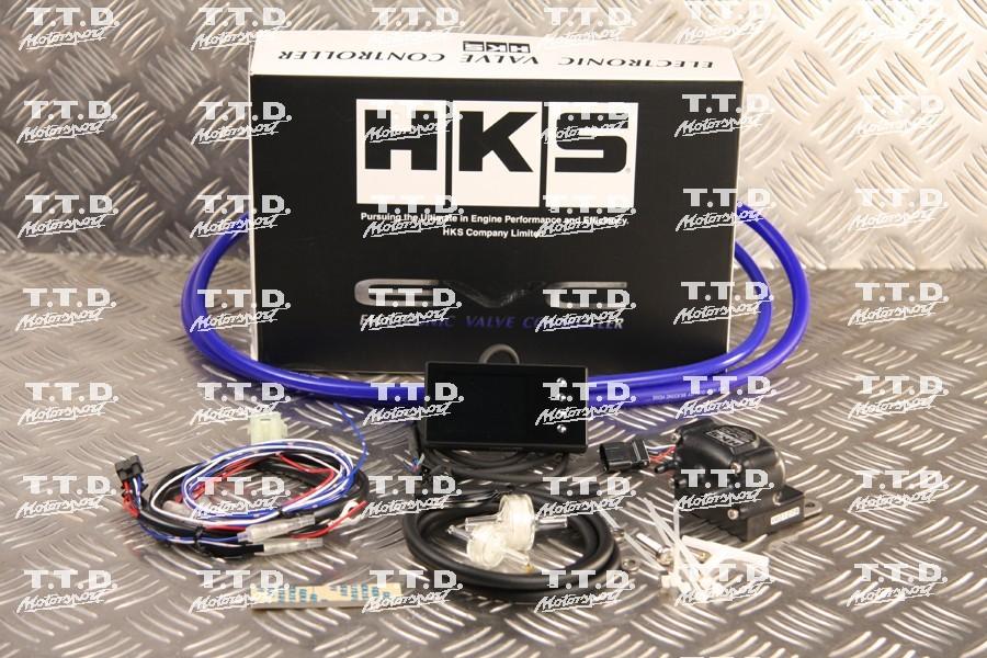 Controlador HKS presión de turbo electrónico color ultima generacion