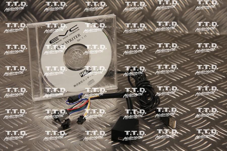 Software opcional para controlador de turbo HKS color