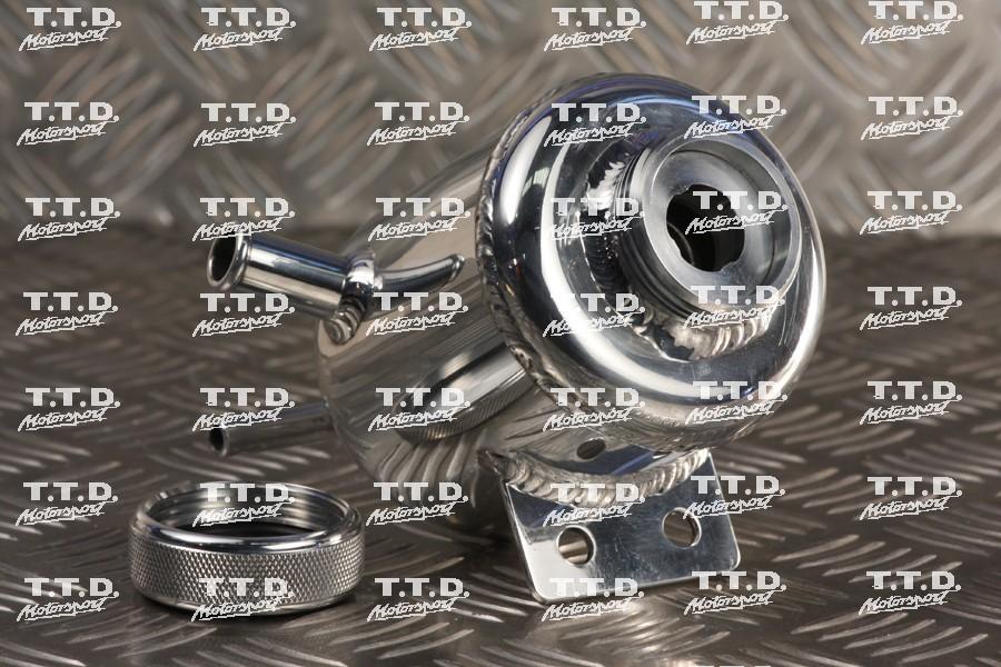 Depósito líquido dirección en aluminio